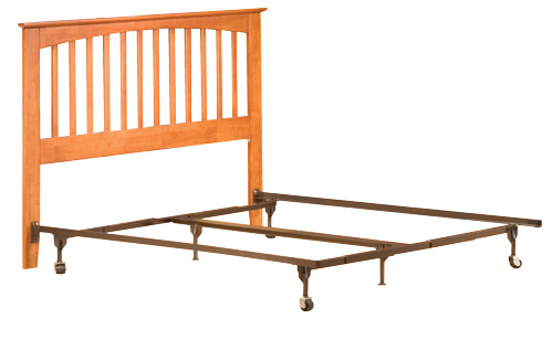 sample headboard only setup - Bed Frames With Headboard